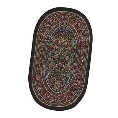 Small Oval Carpet Red 9351