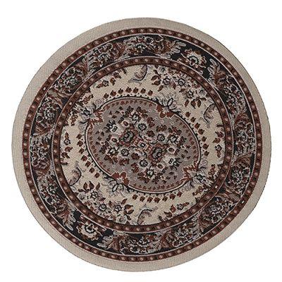 Large Circle Carpet Cream 9352