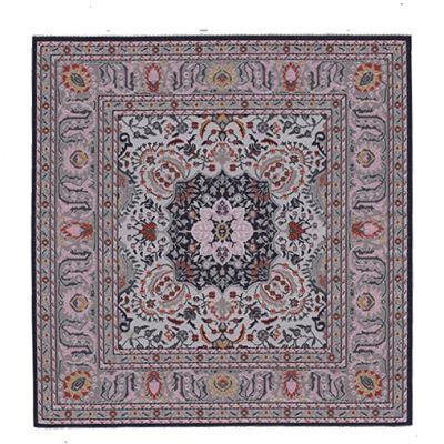 20x20cm Square Carpet Cream 9354
