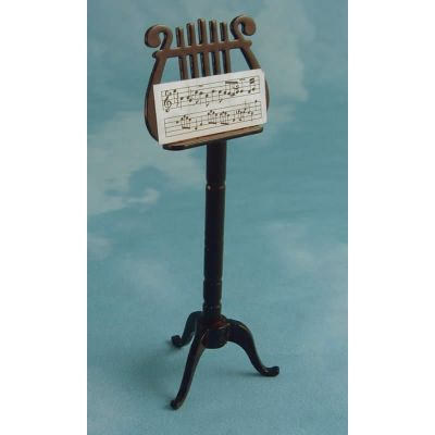 Ornate Wood Music Stand
