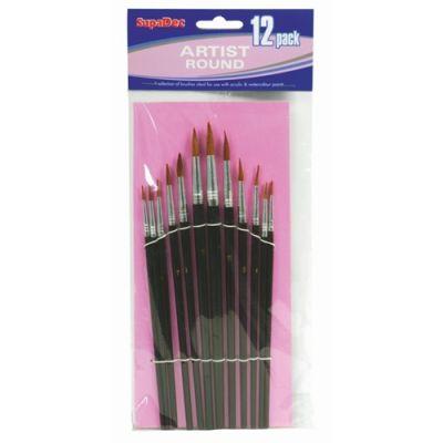 12pc Artist brush set