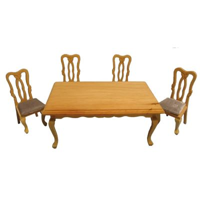 Rect Dining Table 4 Chairs