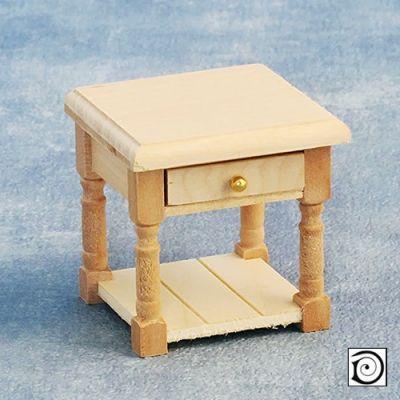 Bedside Table, supplied single