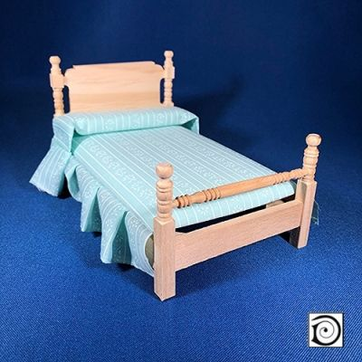 Single Bed, inc bedding