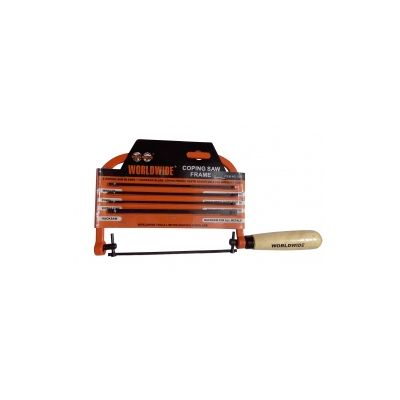 Coping Saw with 5 Blades