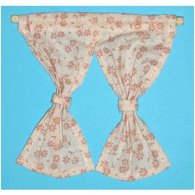 Fawn Floral Curtain