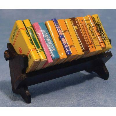 Bookshelf  &  Books