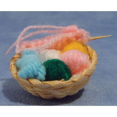 Knitting Set & Basket