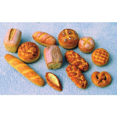 Bread (12 assorted designs, but only one item is supplied)