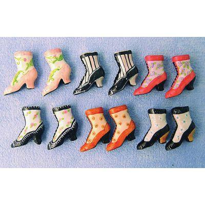 Ladies Ankle Boots (per pair)