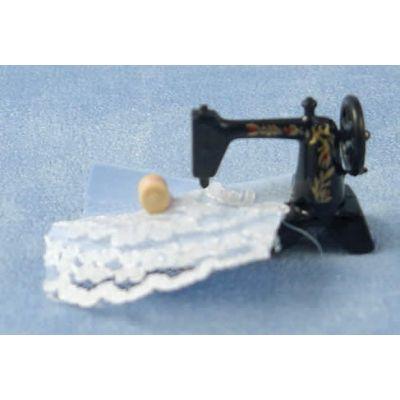 Sewing Machine & Material