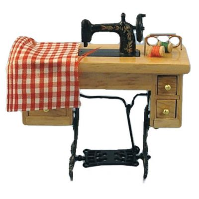 Sewing Maching on Table