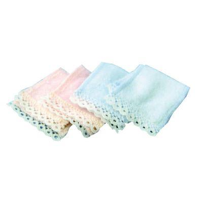 2 Pink & 2 Blue Towels