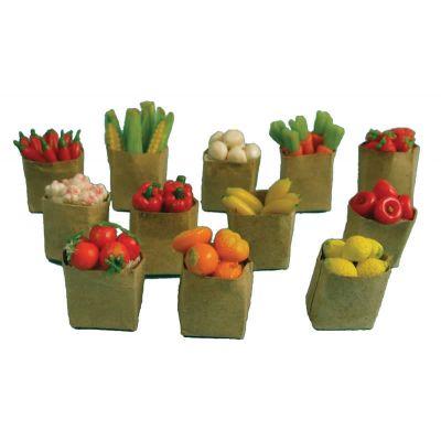 Fruit & Veg Brown Bag ,Priced each (choose from drop down)