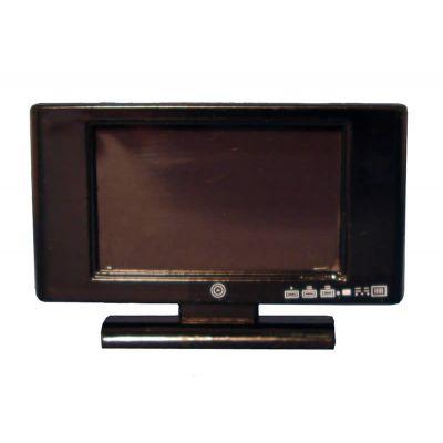 "Black 32"" Widescreen TV"