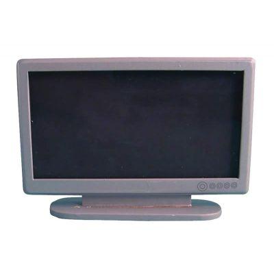 """Silver 42"""" Widescreen TV"""
