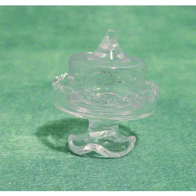 Glass Cake Stand & Dome