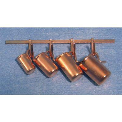 Copper  Jugs   &   Rack