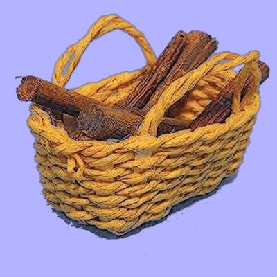 Basket and Logs