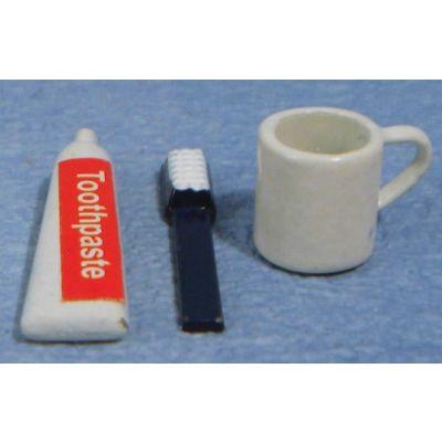 Toothbrush ,Paste & Mug Set