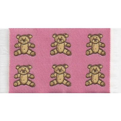 Pink Bears Rug