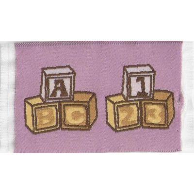 Pink Blocks Rug