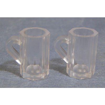 Glass' Beer Mugs pk2