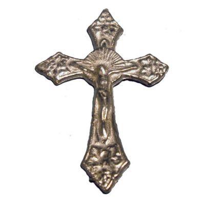 Silver Ornate Crucifix