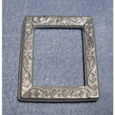 Silver Portrait Frame Rect.