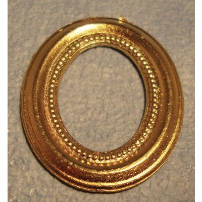 Gold Portrait Frame Oval