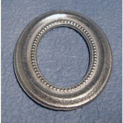Silver Portrait Frame Oval