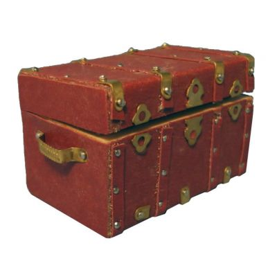 Brass & Leather Chest