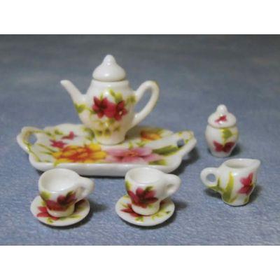 Spring Flower Tea/Coffee Set