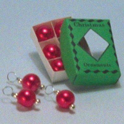 Red Christmas Decs (A1006)