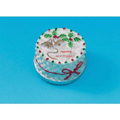 Round Christmas Cake (V6065)