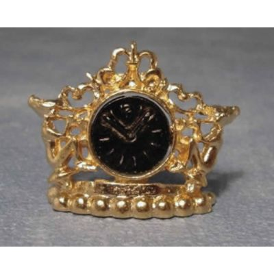 Gold Pixie Mantle Clock