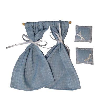 Blue Diamond Cushions & Curtains