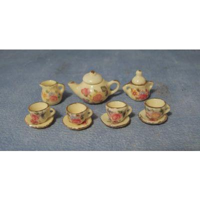 Small Yellow Tea Set