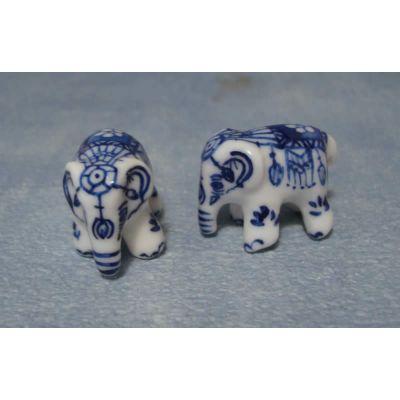 Pair of China Elephants