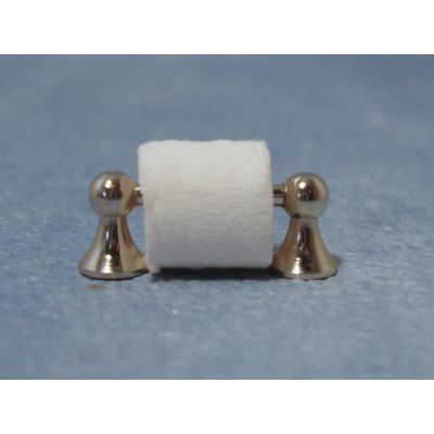 Silver Toilet Roll Holder