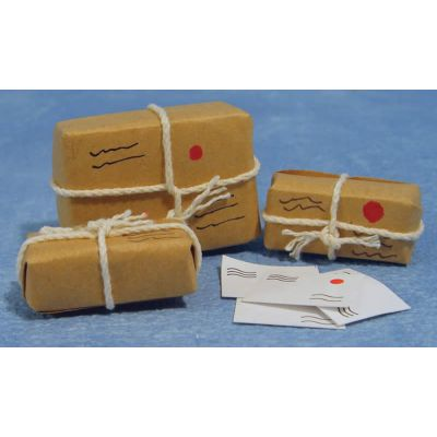 Parcels Wraped w String
