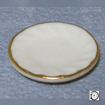 Fluted Guilded Side Plates set 6
