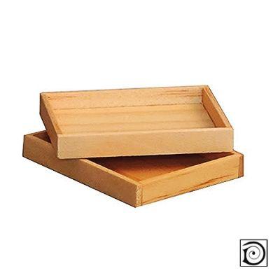 Small Wooden Tray, pk 2