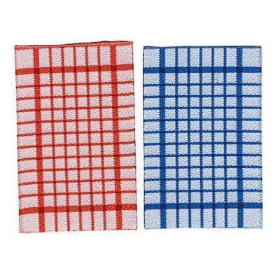 Red & Blue Tea Towels pk2 D2525