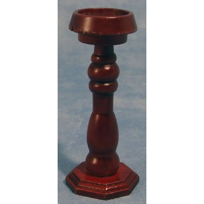 Wood Pedestal Mahog