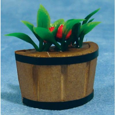 Plant Tub w Flowers