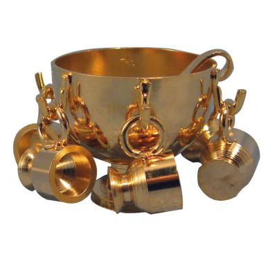 Brass Punch Bowl