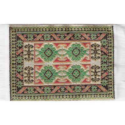 Carpet L. Green 5 x 7cm