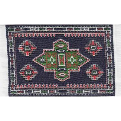 Carpet D. Blue 5 x 7cm
