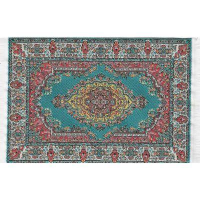Carpet Turq 10 x 14cm